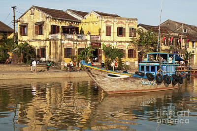 Photograph - Hoi An Fishing Boat 03 by Rick Piper Photography