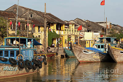 Photograph - Hoi An Fishing Boats 05 by Rick Piper Photography