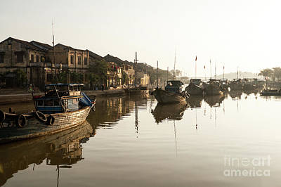 Photograph - Hoi An Fishing Boats 13 by Rick Piper Photography