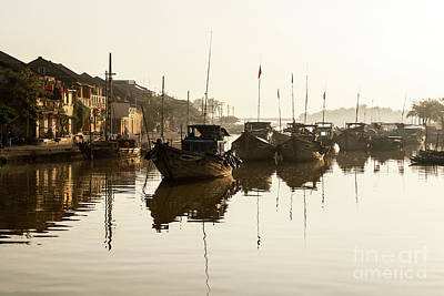 Photograph - Hoi An Fishing Boats 14 by Rick Piper Photography