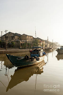 Photograph - Hoi An Fishing Boats 15 by Rick Piper Photography