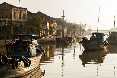 Photograph - Hoi An Fishing Boats 16 by Rick Piper Photography