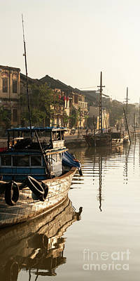 Photograph - Hoi An Fishing Boats 17 by Rick Piper Photography
