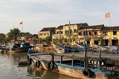Photograph - Hoi An Fishing Boats 19 by Rick Piper Photography