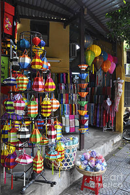 Photograph - Hoi An Lantern Shop by Andrew Dinh
