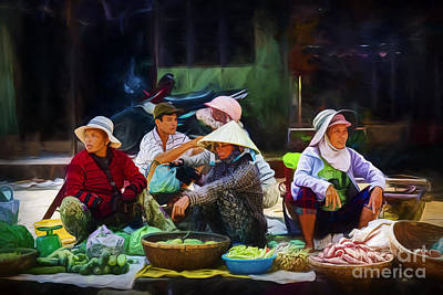 Photograph - Hoi An Markets 2 by Stuart Row