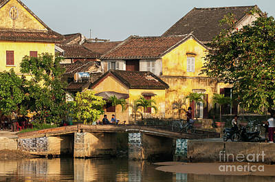 Photograph - Hoi An Old Buildings 01 by Rick Piper Photography