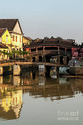 Photograph - Hoi An Reflections 03 by Rick Piper Photography