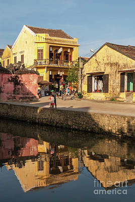 Photograph - Hoi An Reflections 05 by Rick Piper Photography