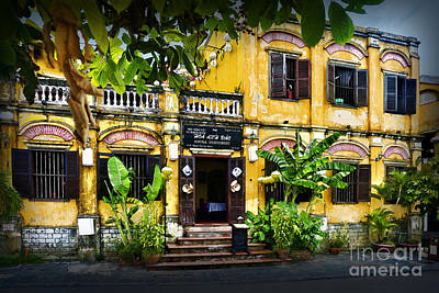 Photograph - Hoi An Restaurant - Day by Stuart Row