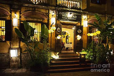 Photograph - Hoi An Restaurant by Stuart Row