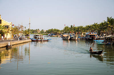 Photograph - Hoi An River by Rob Hemphill