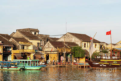Photograph - Hoi An Riverfront 03 by Rick Piper Photography