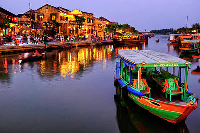 Photograph - Hoi An Riverfront by Fabrizio Troiani