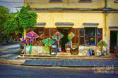 Photograph - Hoi An Street Scene 2 by Stuart Row