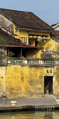 Photograph - Hoi An Tan Ky Wall 03 by Rick Piper Photography