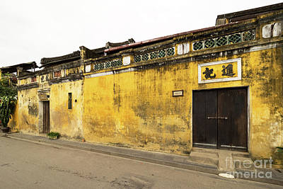 Photograph - Hoi An Tan Ky Wall 07 by Rick Piper Photography