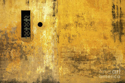 Photograph - Hoi An Tan Ky Wall 09 by Rick Piper Photography
