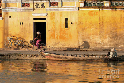 Photograph - Hoi An Tan Ky Wall 13 by Rick Piper Photography