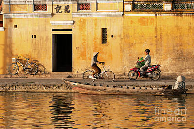 Photograph - Hoi An Tan Ky Wall 15 by Rick Piper Photography