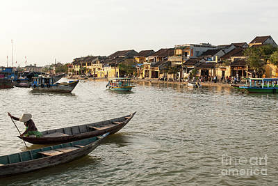 Photograph - Hoi An Thu Bon River 01 by Rick Piper Photography