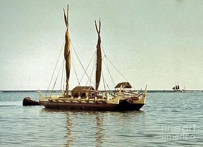 Hokulea - Voyaging Canoe Art Print