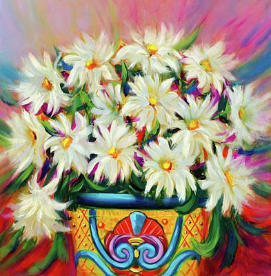 Painting - Hola Daisies by Vicki VanDeBerghe