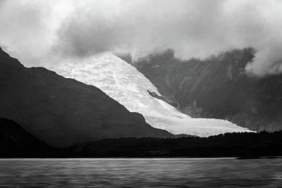Photograph - Holanda Glacier by Maria Coulson