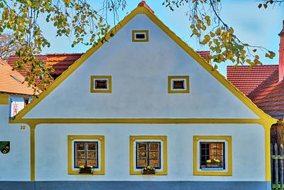 Photograph - Holasovice House - Czechia by Stuart Litoff