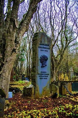 Photograph - Holavallagardur Cemetery Reykjavik Iceland 2 by Deborah Smolinske