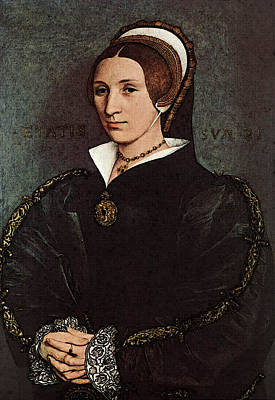 Catherine Howard Digital Art - Holbien The Younger Portrait Of Catherine Howard by Hans Holbein the Younger