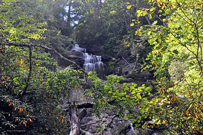Photograph - Holcomb Creek Falls by Kay Lovingood