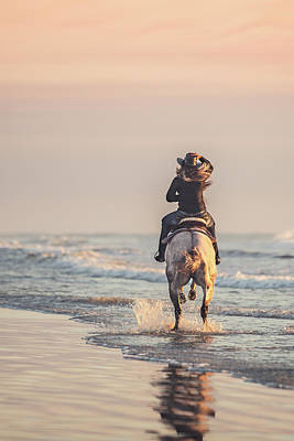 Photograph - Hold On To Your Hat by Fast Horse Photography