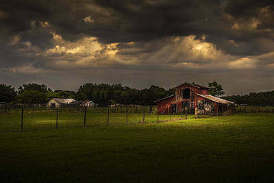 Farm Building Photograph - Hold Your Breath by Marvin Spates