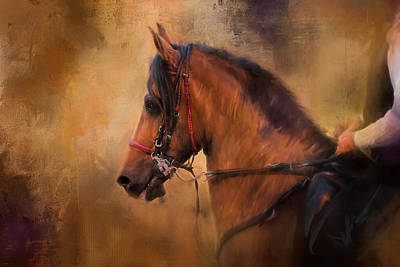 Painting - Hold Your Head High Horse Art by Jai Johnson