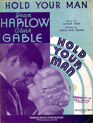Hold Your Man Print by Mel Thompson