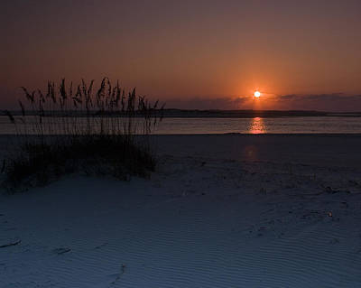Holden Beach Sunrise 1 Art Print by Alan Raasch