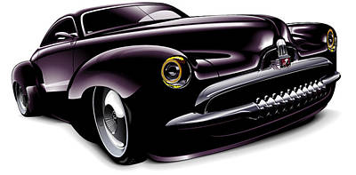 Holden Concept Car Art Print by Brian Gibbs