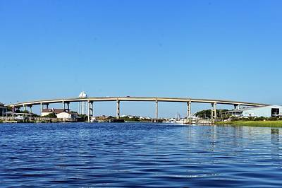 Photograph - Holden Intracoastal Bridge by Alan Raasch