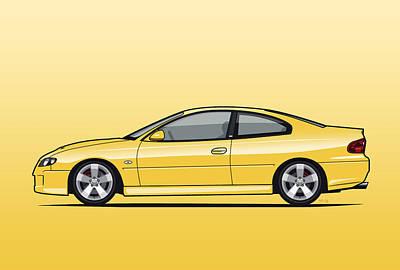 Holden Monaro Vz Cv8 Yellow Original