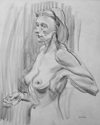 Drawing - Holding Steady  by Robert Holden