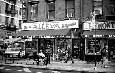 Photograph - Holding Court In Little Italy by John Rizzuto