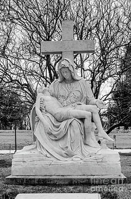 Photograph - Holding Jesus by Kathleen K Parker