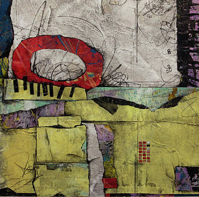 Circle Mixed Media - Holding Space by Laura Lein-Svencner
