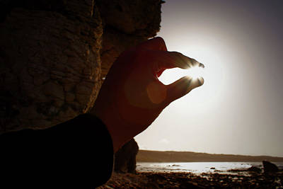 Photograph - Holding The Sun by Colin Clarke