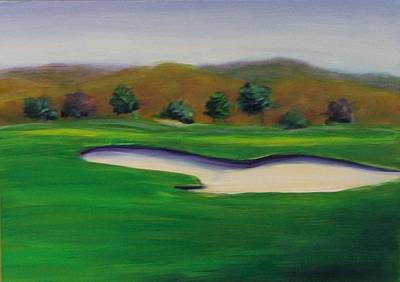 Painting - Hole 1 Great Beginnings by Shannon Grissom