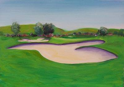 Painting - Hole 10 Pastures Of Heaven by Shannon Grissom