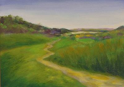 Painting - Hole 13 Cartpath At The Chute by Shannon Grissom