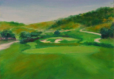 Painting - Hole 16 Kipp's Wild Ride by Shannon Grissom