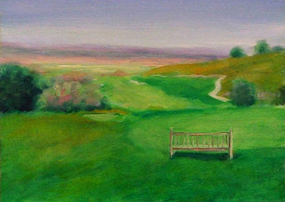 Painting - Hole 17 Eagle's Flight by Shannon Grissom